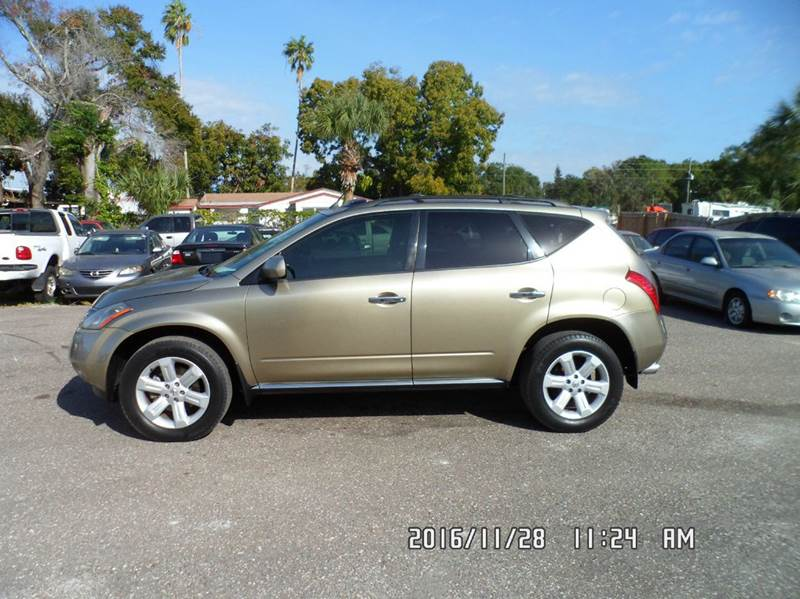 2006 Nissan Murano for sale at Fett Motors INC in Pinellas Park FL