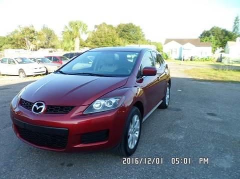 2009 Mazda CX-7 for sale at Fett Motors INC in Pinellas Park FL