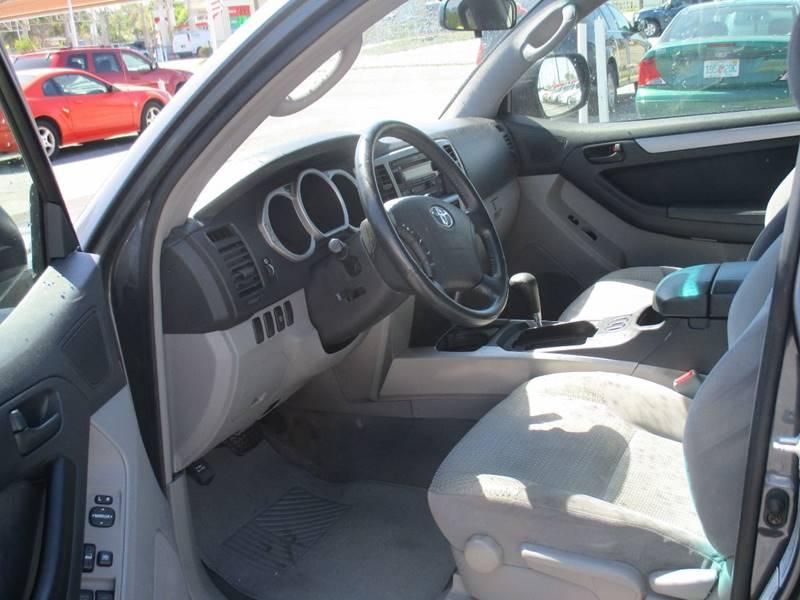2004 Toyota 4Runner for sale at Fett Motors INC in Pinellas Park FL