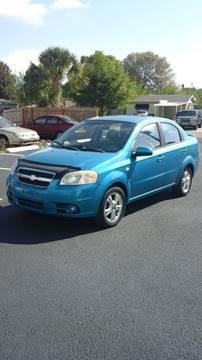 2008 Chevrolet Aveo for sale at Fett Motors INC in Pinellas Park FL