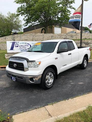 2007 Toyota Tundra for sale at 1st Quality Auto - Waukesha Lot in Waukesha WI