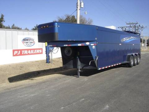 2001 TRAVALONG 7 X 34 ENCLOSED for sale in Agra, KS