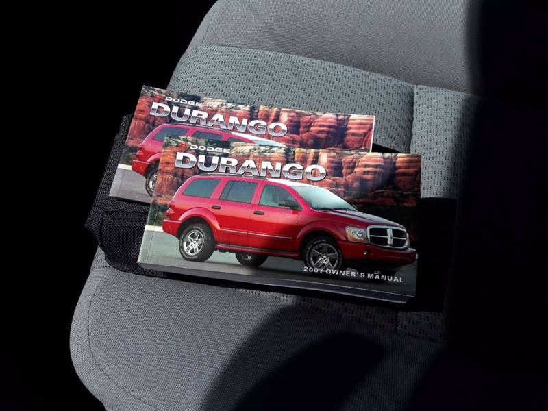 2007 Dodge Durango SXT 4dr SUV 4WD - Pueblo CO