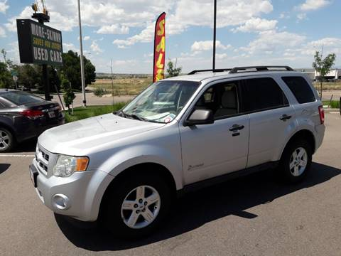 Ford Escape Hybrid For Sale >> Ford Escape Hybrid For Sale In Pueblo Co More Skinny Used