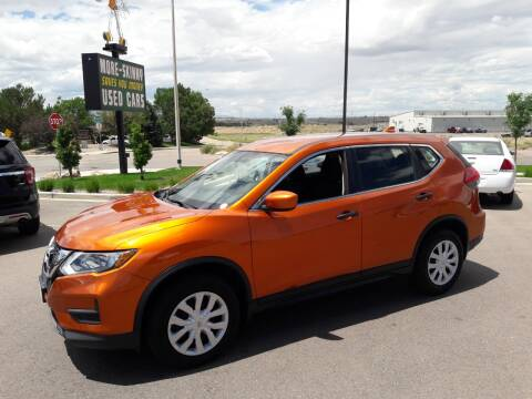 2017 Nissan Rogue for sale at More-Skinny Used Cars in Pueblo CO