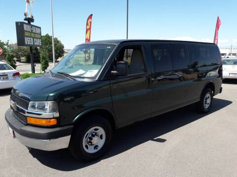 2012 Chevrolet Express Passenger for sale at More-Skinny Used Cars in Pueblo CO