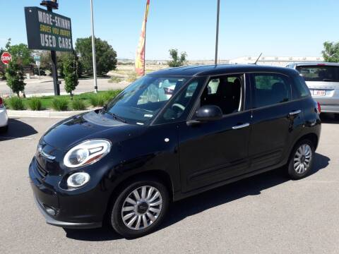2014 FIAT 500L for sale at More-Skinny Used Cars in Pueblo CO