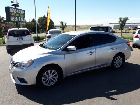 2018 Nissan Sentra for sale at More-Skinny Used Cars in Pueblo CO