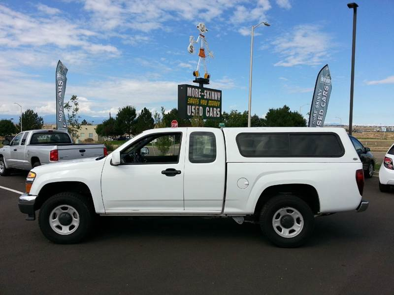 2011 GMC Canyon 4x4 Work Truck 4dr Extended Cab - Pueblo CO