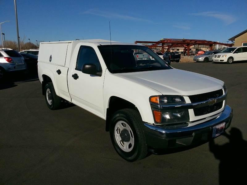 2010 Chevrolet Colorado 4x2 Work Truck 2dr Regular Cab Chassis - Pueblo CO
