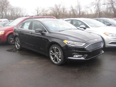 2017 Ford Fusion for sale in Swanton, VT