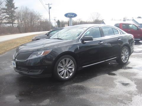 2013 Lincoln MKS for sale in Swanton, VT