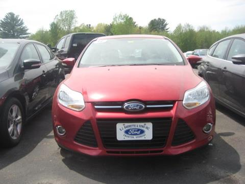 2012 Ford Focus for sale in Swanton, VT