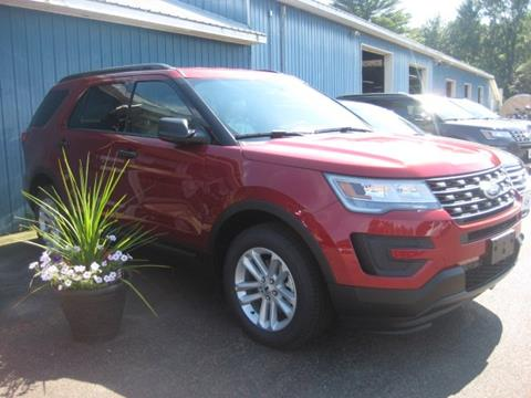 2017 Ford Explorer for sale in Swanton, VT