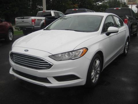 2018 Ford Fusion for sale in Swanton, VT