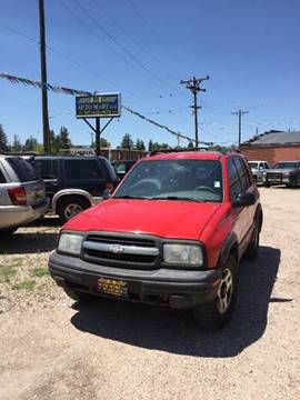 2002 Chevrolet Tracker for sale at Good Guys Auto Sales in Cheyenne WY