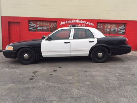 2010 Ford Crown Victoria for sale at Jeremiah's Rides LLC in Odessa MO