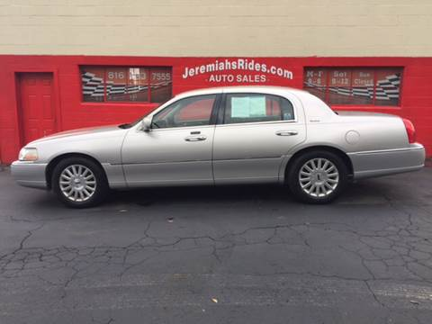 2003 Lincoln Town Car for sale at Jeremiah's Rides LLC in Odessa MO