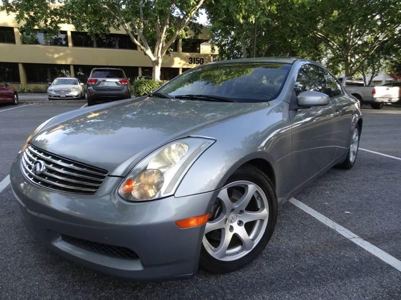 2005 Infiniti G35 for sale at Star One Imports in Santa Clara CA