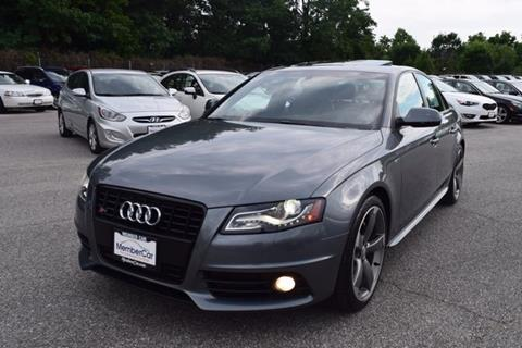 2012 Audi S4 for sale in Rockville, MD