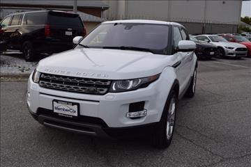 2013 Land Rover Range Rover Evoque for sale in Rockville, MD