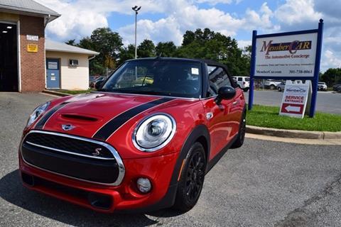 2016 Mini Convertible For Sale In Americus Ga Carsforsale