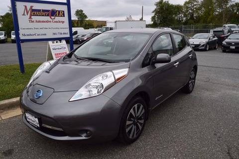 2016 Nissan LEAF for sale in Rockville, MD