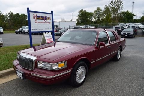 1997 Lincoln Town Car for sale in Rockville, MD