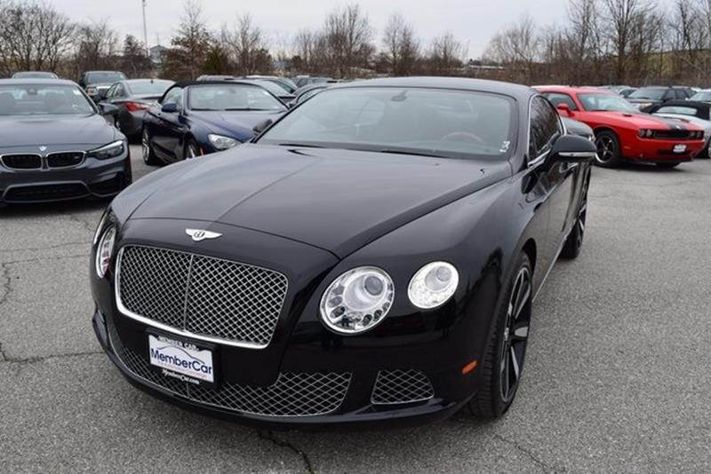 2012 Bentley Continental AWD GT 2dr Coupe   Rockville MD