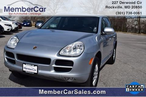 2005 Porsche Cayenne for sale in Rockville, MD