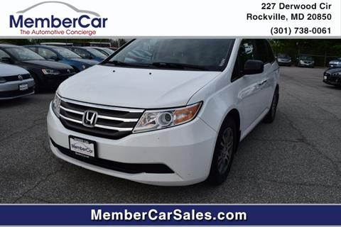 2011 Honda Odyssey for sale in Rockville, MD