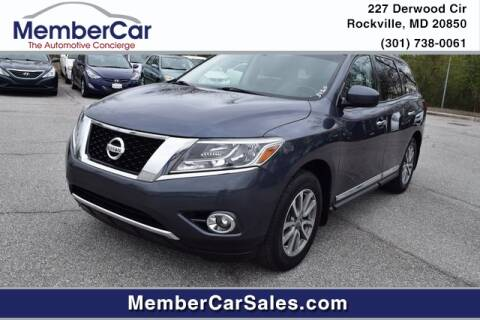 2014 Nissan Pathfinder SL for sale at MemberCar in Rockville MD