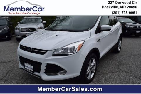 2014 Ford Escape SE for sale at MemberCar in Rockville MD