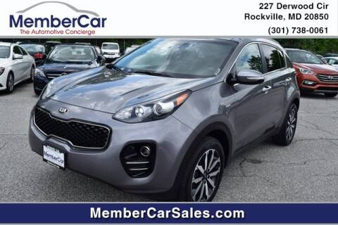 2017 Kia Sportage for sale at MemberCar in Rockville MD