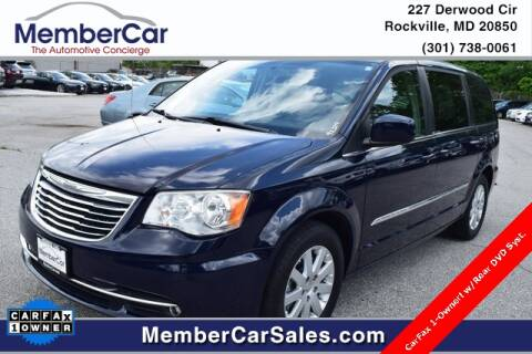 2014 Chrysler Town and Country for sale at MemberCar in Rockville MD
