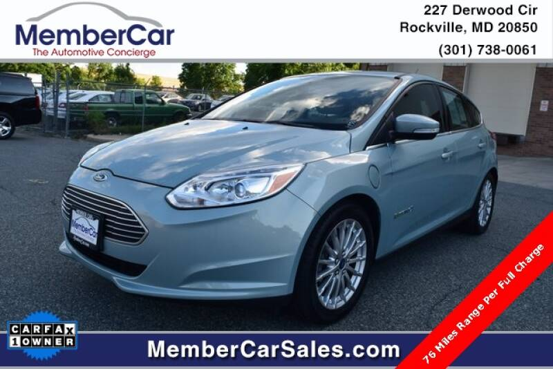 2013 Ford Focus for sale at MemberCar in Rockville MD