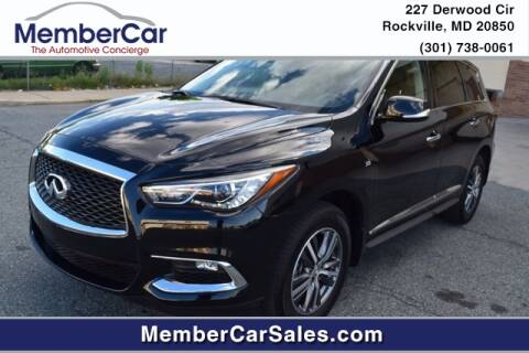 2019 Infiniti QX60 for sale at MemberCar in Rockville MD