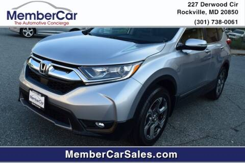 2019 Honda CR-V for sale at MemberCar in Rockville MD