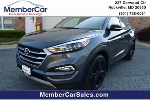 2017 Hyundai Tucson for sale at MemberCar in Rockville MD