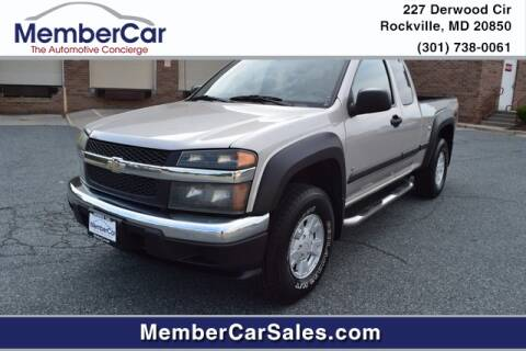 2006 Chevrolet Colorado for sale at MemberCar in Rockville MD
