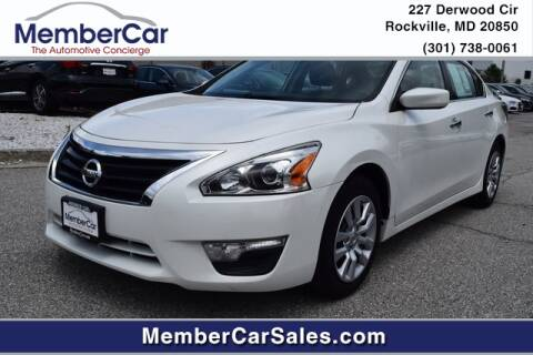 2014 Nissan Altima for sale at MemberCar in Rockville MD