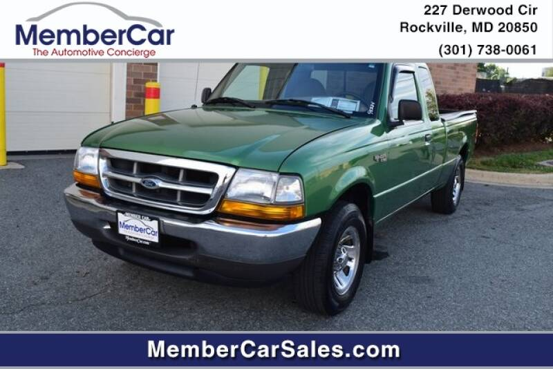 1999 Ford Ranger for sale at MemberCar in Rockville MD