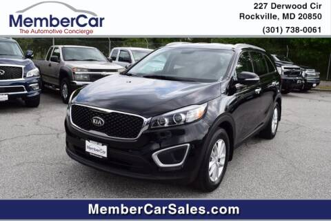 2017 Kia Sorento for sale at MemberCar in Rockville MD