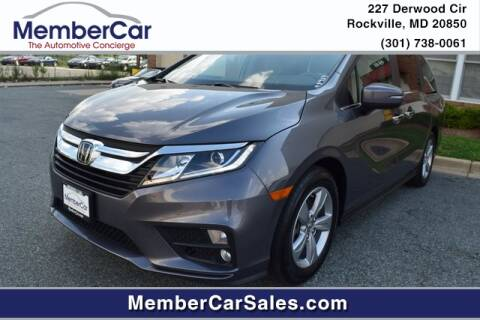 2019 Honda Odyssey for sale at MemberCar in Rockville MD
