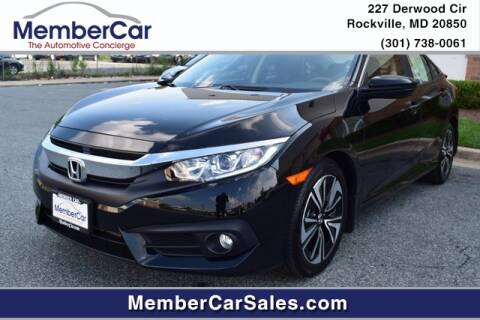 2018 Honda Civic for sale at MemberCar in Rockville MD