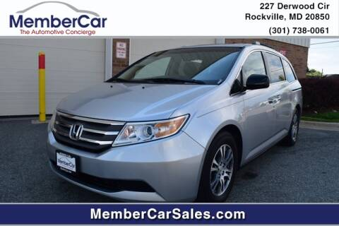 2011 Honda Odyssey for sale at MemberCar in Rockville MD