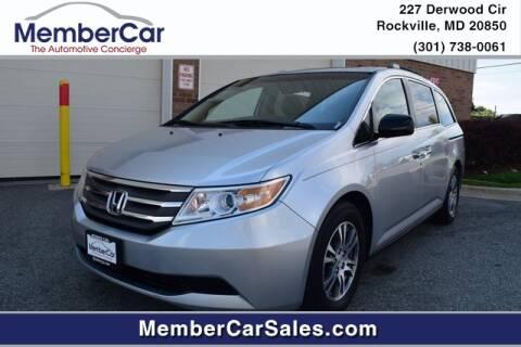 2011 Honda Odyssey for sale at MemberCar in Rockville MD
