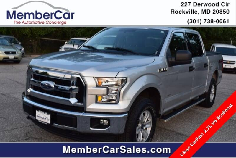 2017 Ford F-150 for sale at MemberCar in Rockville MD