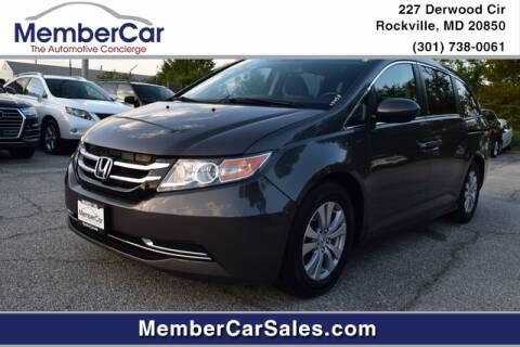 2014 Honda Odyssey for sale at MemberCar in Rockville MD