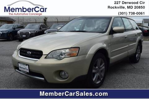 2007 Subaru Outback for sale at MemberCar in Rockville MD